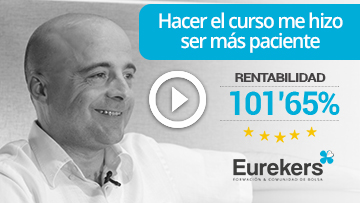 Rentability's users from stock market course from Eduardo Andrés