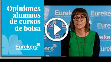 Opiniones Eurekers: Testimonio de Carolina Aparicio sobre nuestro curso de bolsa.