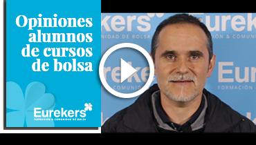 Opiniones Eurekers: Testimonio de Javier Azcona sobre nuestro curso de bolsa.