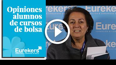 Opiniones Eurekers: Testimonio de Maria Teresa Riera-Marsa sobre nuestro curso de bolsa.