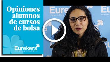 Opiniones Eurekers: Testimonio de Cristina Cecilio sobre nuestro curso de bolsa.