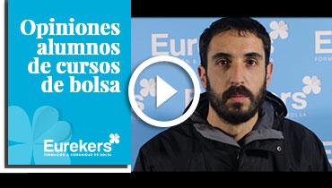 Opiniones Eurekers: Testimonio de Javier Marcos sobre nuestro curso de bolsa.