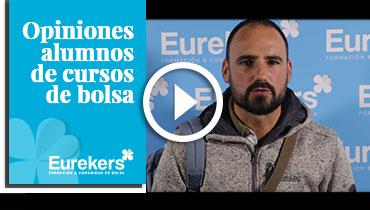 Opiniones Eurekers: Testimonio de Joseba Andoni Alcon sobre nuestro curso de bolsa.