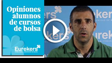 Opiniones Eurekers: Testimonio de Carlos Alberto Prieto sobre nuestro curso de bolsa.