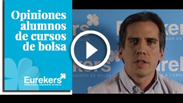 Opiniones Eurekers: Testimonio de César Fuente sobre nuestro curso de bolsa.