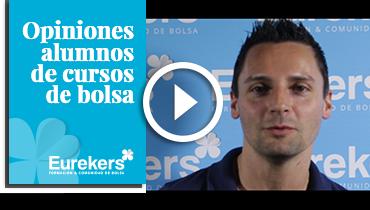 Opiniones Eurekers: Testimonio de Luis García sobre nuestro curso de bolsa.