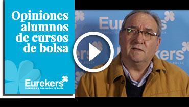 Opiniones Eurekers: Testimonio de Bernardo Verdugo sobre nuestro curso de bolsa.