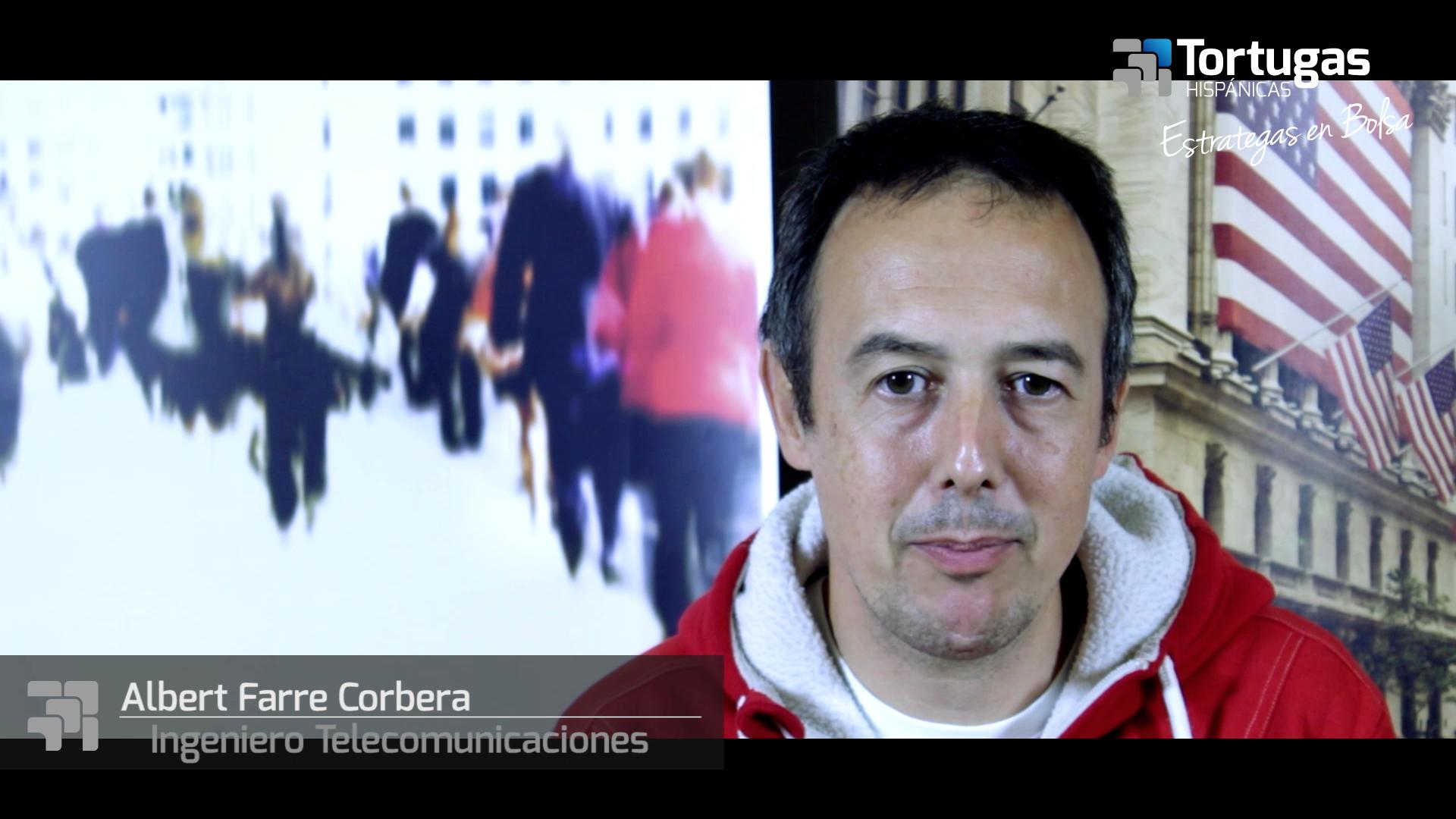 Opiniones Tortugas Hispánicas; Testimonio de Albert Farre sobre nuestro curso de bolsa.