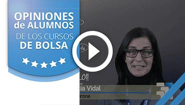 Opiniones Tortugas Hispánicas; Testimonio de Cecilia García sobre nuestro curso de bolsa.