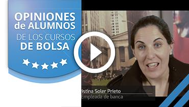 Opiniones Tortugas Hispánicas; Testimonio de Cristina Soler sobre nuestro curso de bolsa.
