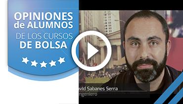 Opiniones Tortugas Hispánicas; Testimonio de David Sabanes sobre nuestro curso de bolsa.