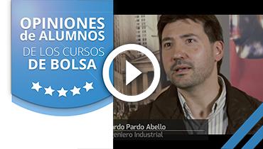 Opiniones Tortugas Hispánicas; Testimonio de Eduardo Pardo sobre nuestro curso de bolsa.