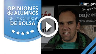 Opiniones Tortugas Hispánicas; Testimonio de Ganix Ostolaza sobre nuestro curso de bolsa.