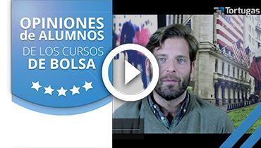 Opiniones Tortugas Hispánicas; Testimonio de Ignacio Gridilla sobre nuestro curso de bolsa.