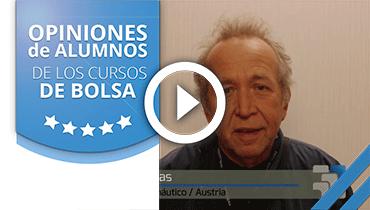 Opiniones Tortugas Hispánicas; Testimonio de Itsvan Farkas sobre nuestro curso de bolsa.