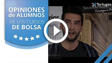 Opiniones Tortugas Hispánicas; Testimonio de Javier Arribas sobre nuestro curso de bolsa.