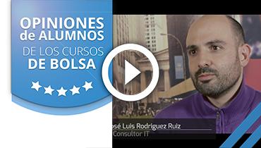 Opiniones Tortugas Hispánicas; Testimonio de José Luis sobre nuestro curso de bolsa.
