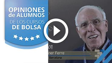 Opiniones Tortugas Hispánicas; Testimonio de Jose Montaner sobre nuestro curso de bolsa.