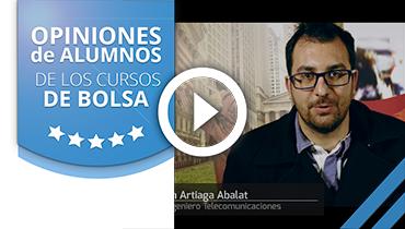 Opiniones Tortugas Hispánicas; Testimonio de Juan Artiaga sobre nuestro curso de bolsa.
