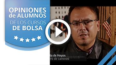 Opiniones Tortugas Hispánicas; Testimonio de Luis Yunta sobre nuestro curso de bolsa.