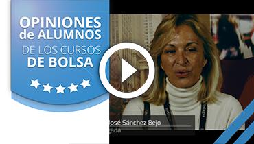 Opiniones Tortugas Hispánicas; Testimonio de Maria Jose Sanchez sobre nuestro curso de bolsa.